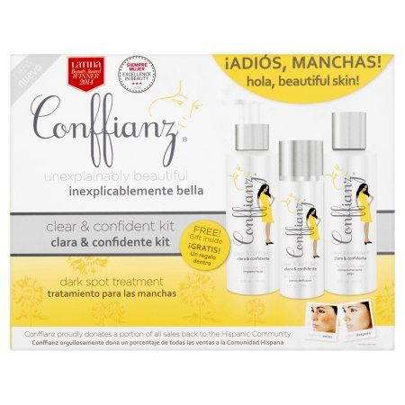 Conffianz Dark Spot Treatment Clear & Confident Kit, White