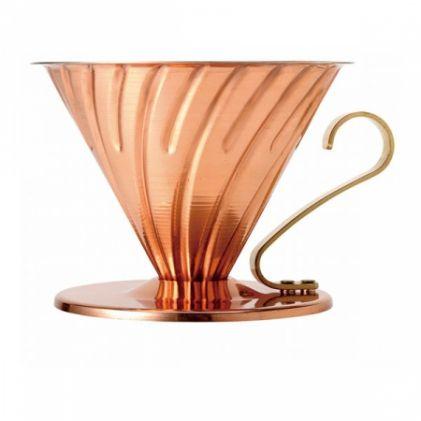 Filtr do kawy miedziany HARIO DRIPPER V60-02