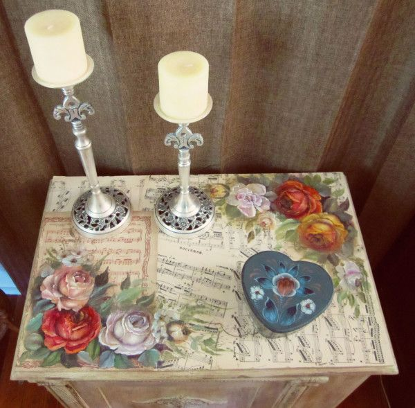 Inspirational diy decoupage furniture ideas diy home for Inspirational decoupage coffee table
