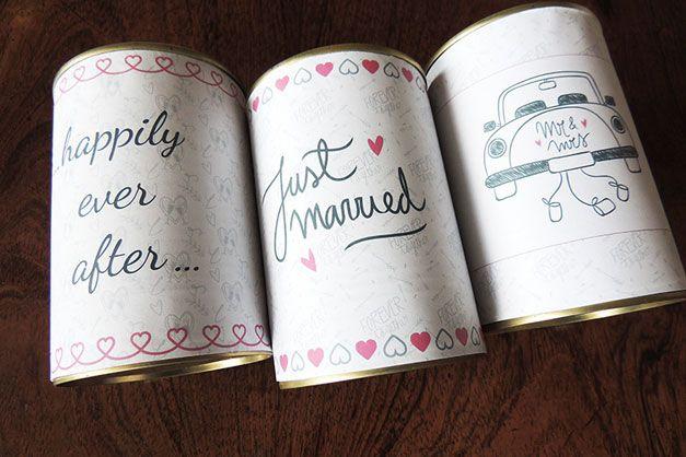 Matrimonio.it | #Decorazioni fai da te: i #barattoli per l' #auto degli sposi #car #wedding #idea #diy #faidate #handmade