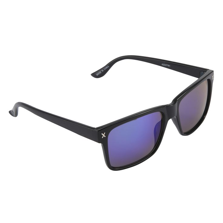 Wayfarer Cross Trim Sunglasses   Kmart