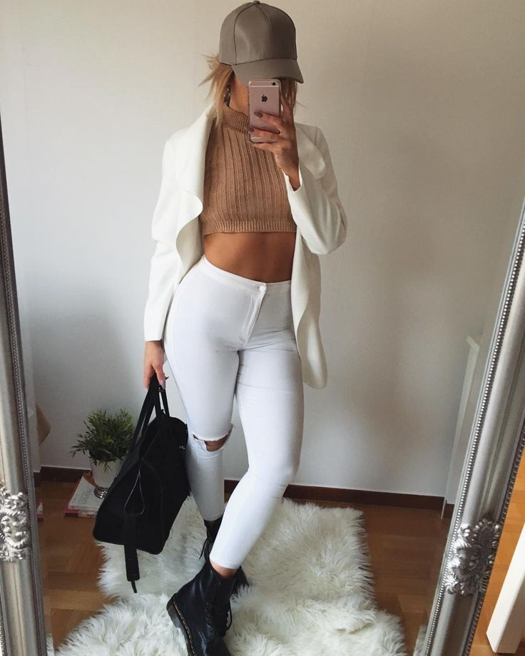 stunning baddie outfits with heels boots