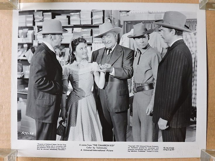 Audie Murphy with Beverly Tyler original western photo 1952 The Cimarron Kid in Entertainment Memorabilia, Movie Memorabilia, Photographs, 1950-59, Black & White   eBay