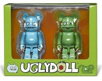 Be@rbrick: Uglydoll Ox & Icebat. I found this on shop.visualjunkie.no