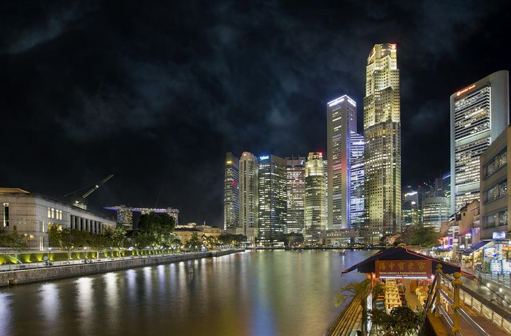 Singapore Central Business District at Boat Quay by David Gn on 500px