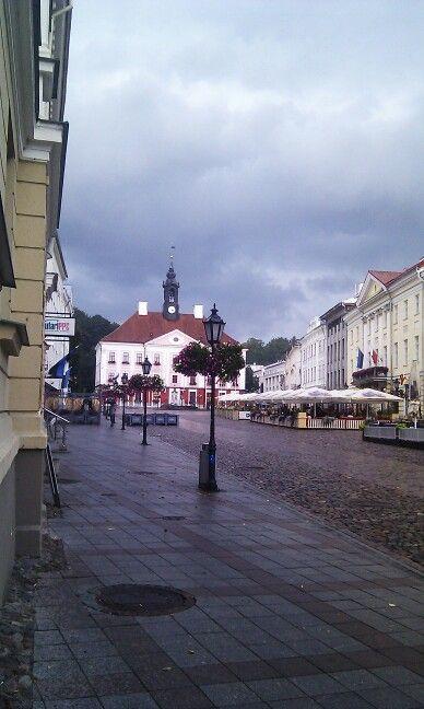 Plaza mayor en Tartu