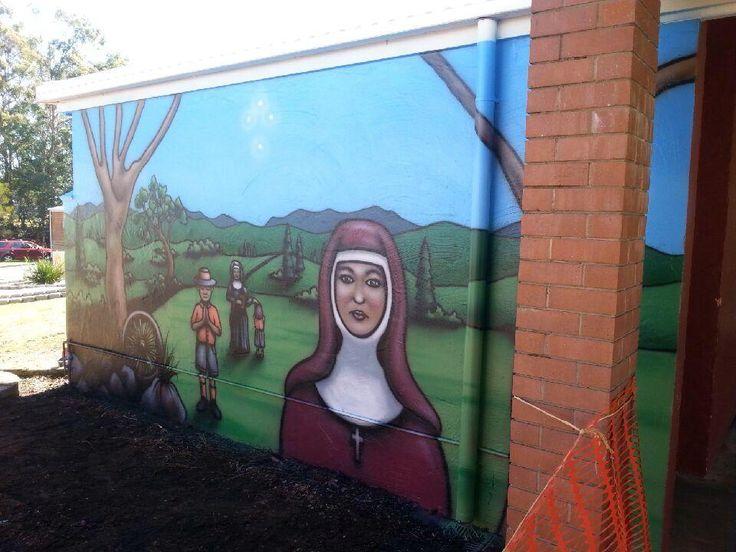 We painted this mural! http://kraudeltpainting.com.au/