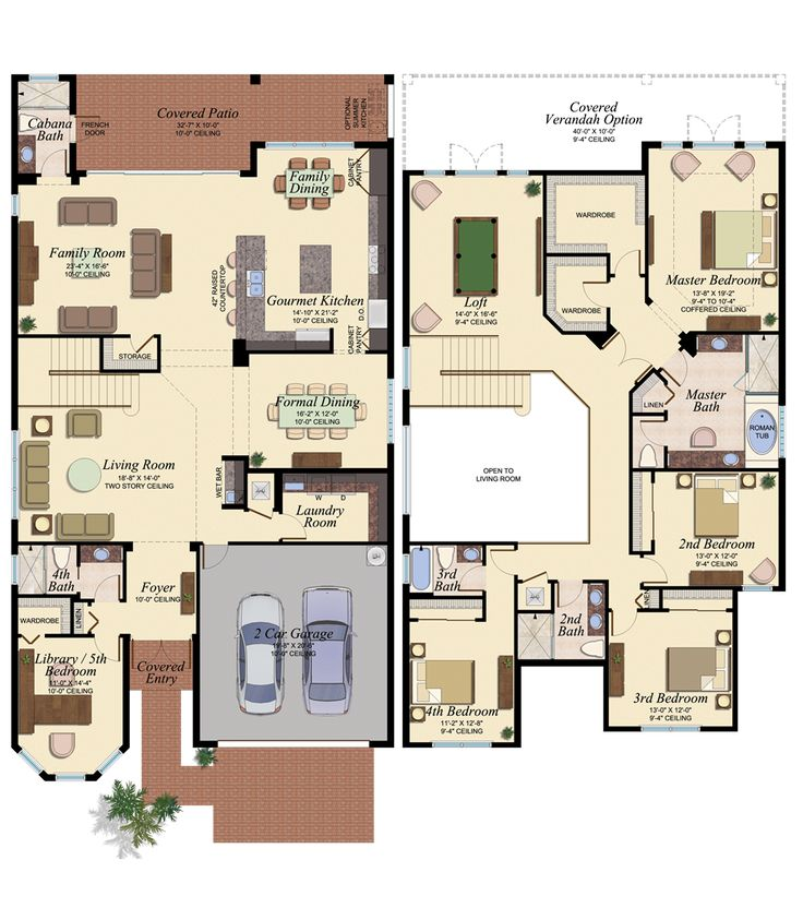 1056 best images about planos on pinterest for Sims 2 floor plans