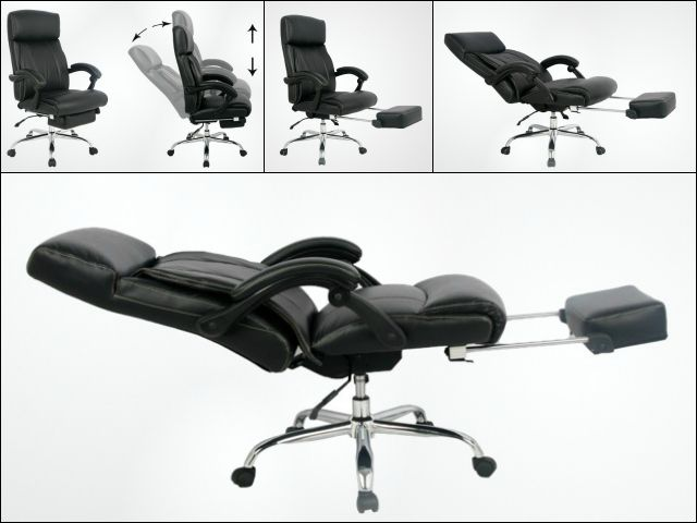 The VIVA Office Executive and Managerial Chair reclines fully and has an extended foot rest for  sc 1 st  Pinterest & Best 25+ Reclining office chair ideas on Pinterest | Recliner ... islam-shia.org