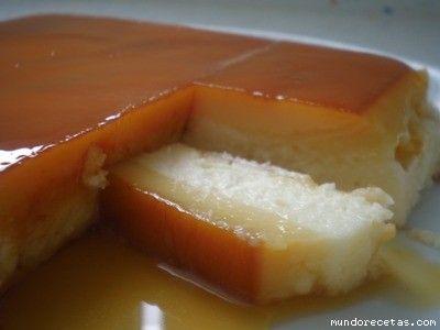Receta de Tocino de cielo con tarta de queso