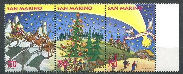 San Marino** ciekawe znaczki  Boże Narodzenie