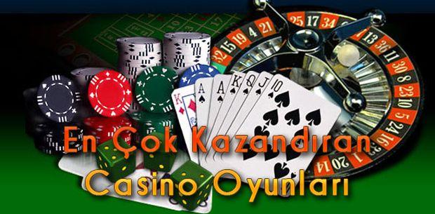 En Çok Kazandıran Casino Oyunları