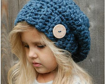 CROCHET PATTERN-The Cade Cap Toddler Child Adult by Thevelvetacorn