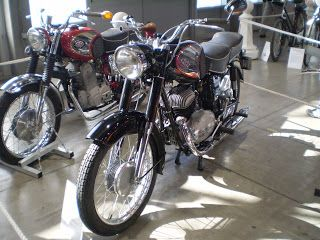Pannonia- we had to stop production because of COMECON - DDR produced MZ and Czech the JAWA and CZ.