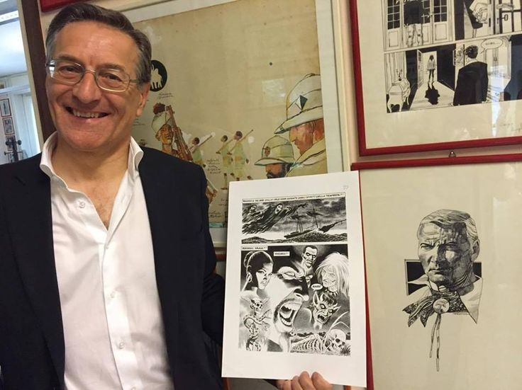 Fabio Civitelli mostra-nos uma página da sua história em produção, que trará o regresso de Yama, a publicar em Novembro, com textos de…