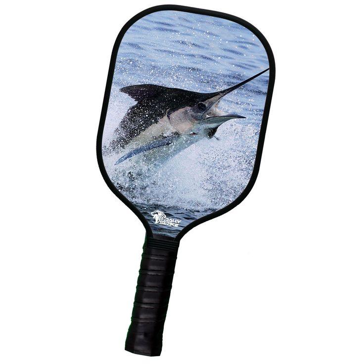 Custom Pickleball Paddle Marlin Fishing Design (RSC Aluminum Core Series)