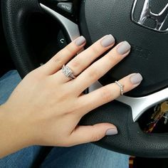 OPI Taupe-Less Beach with matte top coat