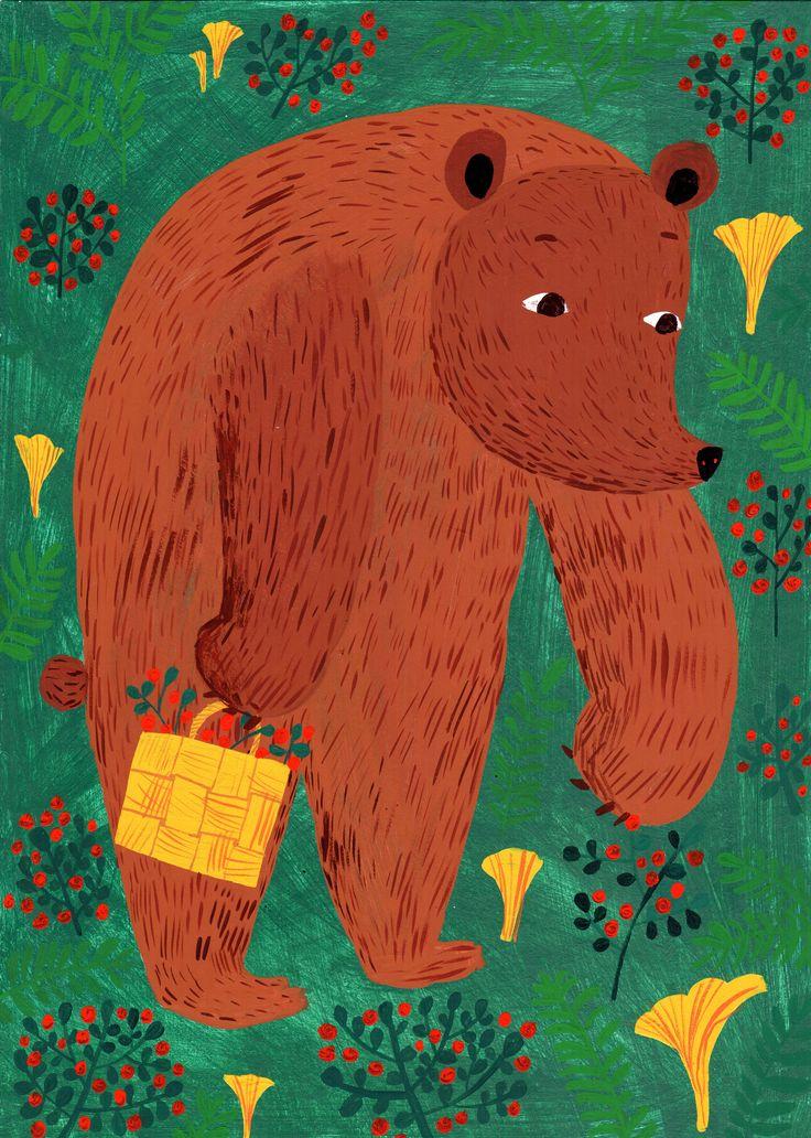 Matti Pikkujämsä 2014 | Bear in Forest