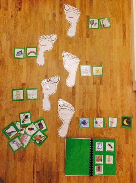 """grundschul_teacher - Material, Montessori & Tipps: """"Silbengehen"""" - Schritt für Schritt zur richtigen Silbenanzahl"""