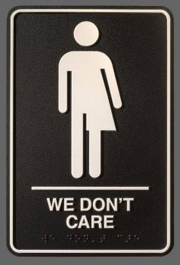 Eventually We Will Experience A Generation Of People Who Don T Care About Where Go To The Bathroom Writes Artist Peregrine Honig Designed
