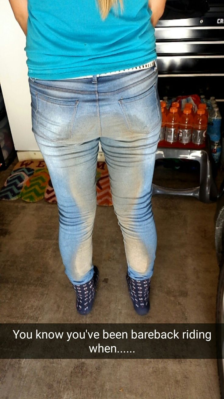 You know you've been bareback riding when...