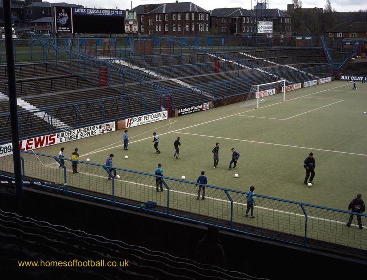Training time, Oldham Athletic,England year1990  by Stuart Roy Clarke #OAFC #FLKickOff