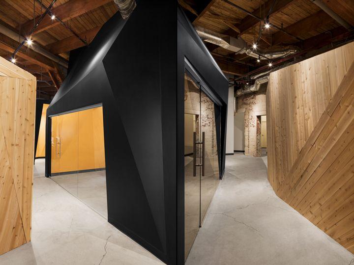 PixMob Offices By Jean De Lessard Designers Cratifs Montreal Canada Retail Design