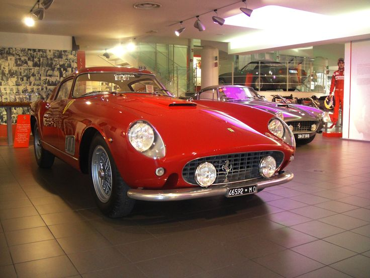 Ferrari 250 Coupe, like a California but with a Coupe Roof! At the Ferrari Museum in Maranello.