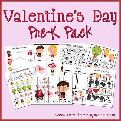 Valentine ActivitiesHoliday, Valentine Day Ideas, Valentine'S Day, Preschool Printables, Pre K, Preschool Valentine, Learning, Kids, Prek Pack