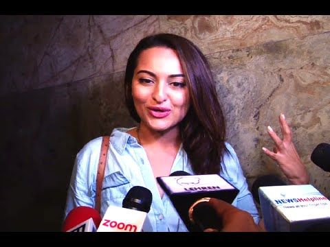 Sonakshi Sinha's reaction after watching FREAKY ALI movie.