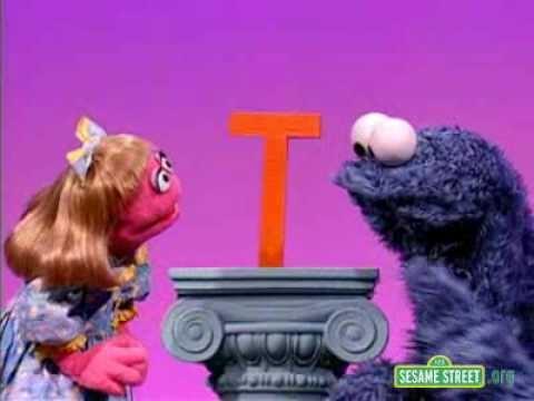 Sesame Street Letter of the Day T | Sesame Street | Pinterest