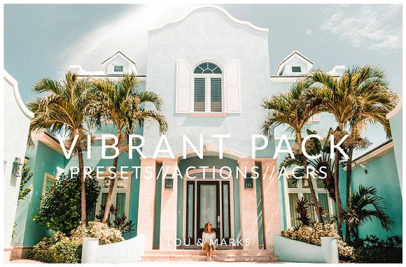 VIBRANT PACK by LOU&MARKS on @creativemarket #affiliate