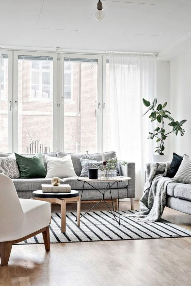 Pulling Off White Walls White Walls Living Room Grey Walls