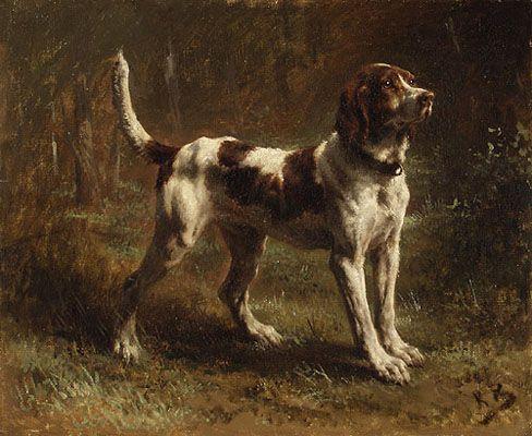 Rosa Bonheur -  Limier Briquet 1880 Metropolitan Museum of Art - New York
