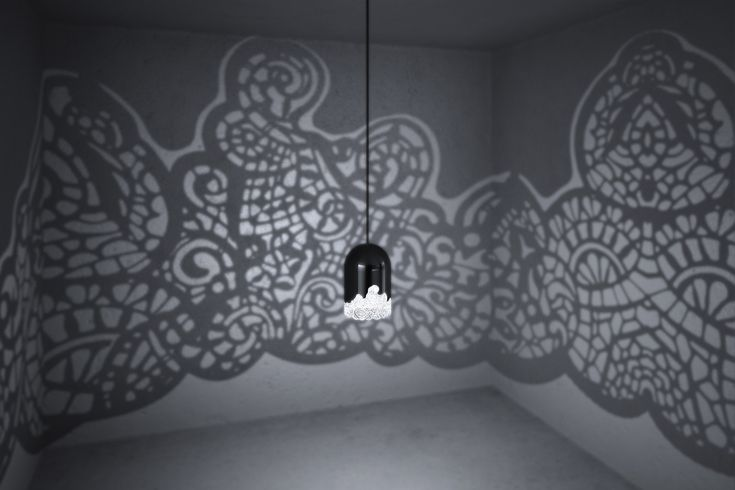 "3D-Printed ""Lacelamps"" Add Beautiful Patterns To Any Room When You Turn On The Lights"