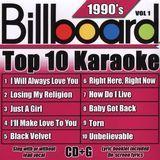 Billboard Top Karaoke: 90's, Vol. 1 [CD]