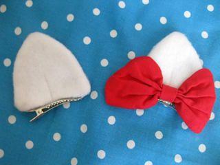 cute idea for ears/ halloween costume