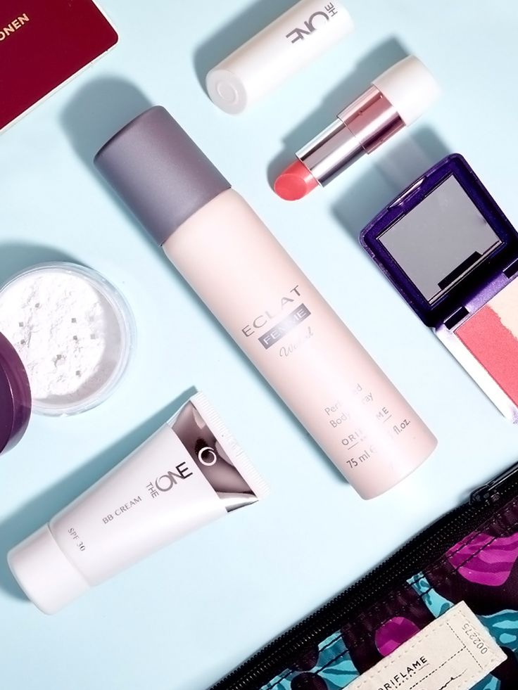 Long flight...looking fresh? Easy! Here are some of our must-haves for looking your best after a long flight!  #oriflame #musthave #summer