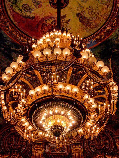 Paris Opera House Chandelier | ... Shop: The Phantom's Inspiration-- Chaos in the Paris Opera House