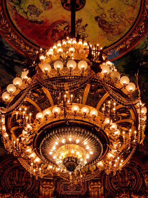 Paris Opera House Chandelier | ... Shop: The Phantom's Inspiration-- Chaos in the Paris Opera House