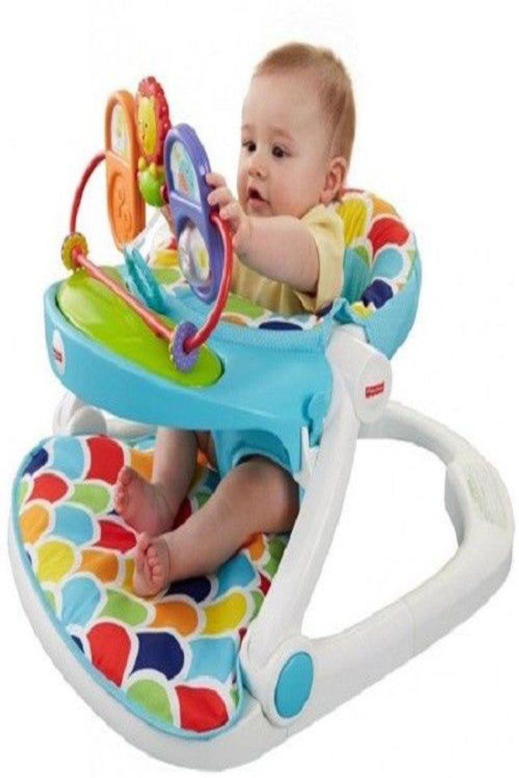 71 99 Baby Floor Seat Stand Sit Toy Tray Infant Child Feeding
