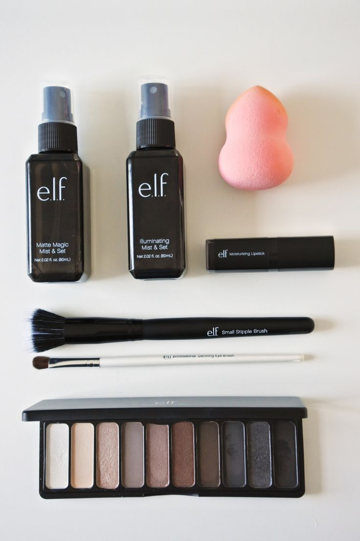 I love Elf makeup! It's cheap but you get great coverage and it's pretty