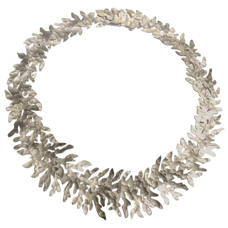 Sterling Silver Necklace by Eduardo Herrera | From a unique collection of…