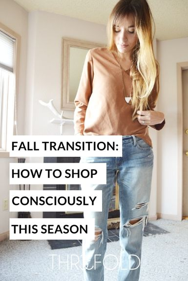 how to shop consciously from season to season