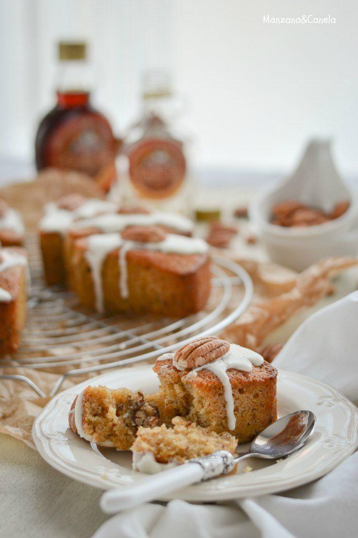 Bizcochitos de sirope de arce y nueces pecanas / #receta