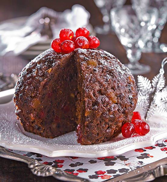 Traditional Christmas pudding: You can't get more classic than this pudding for Christmas. Cooked the old fashioned way it is decadent and delicious.