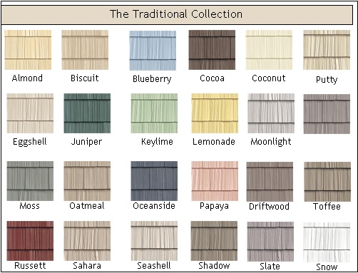 25 best ideas about vinyl shake siding on pinterest for Popular vinyl siding colors