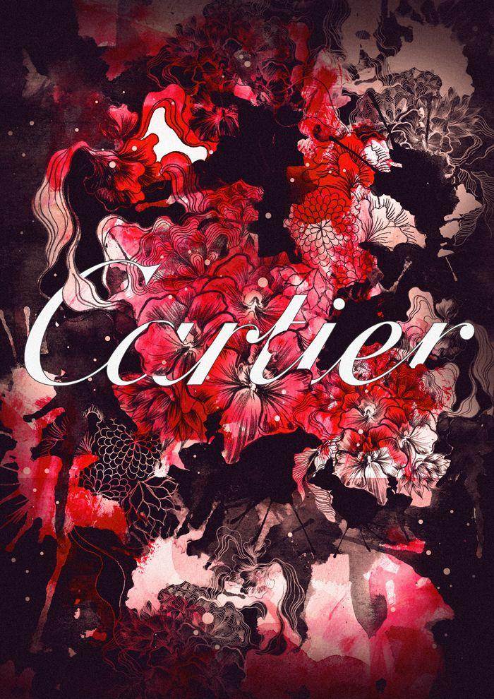 brands, clothing, creative, fashion, full bloom, Illustration, Inspiration, luxury