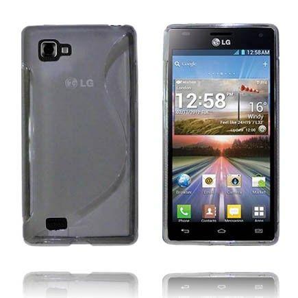 Transparent S-Line (Grå) LG Optimus 4X HD Deksel