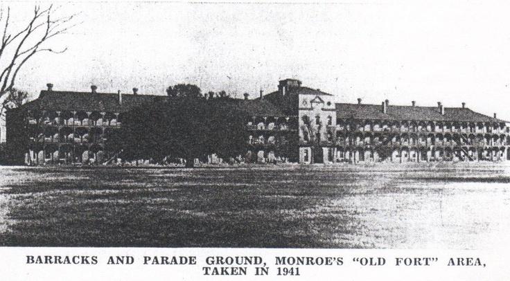 Army Barracks at Fortress Monroe, Virigina